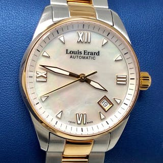 Louis Erard - Automatic Watch Heritage Collection 2 Tone...