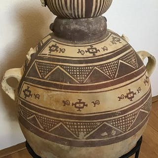 Vase - Pottery - Chancay culture - Peru