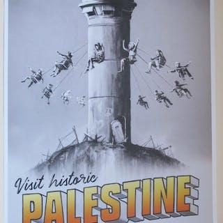 Banksy x Walled Off Hotel - Visit Historic Palestine