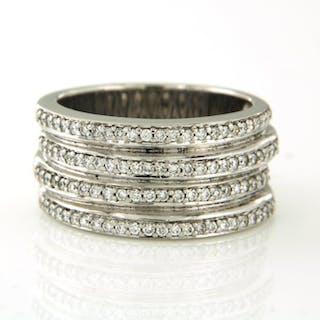 Christ - 14 kt. White gold - Ring - 1.00 ct Diamond