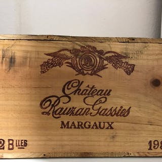1984 Chateau Rauzan Gassien - Pauillac 1er Grand Cru Classé - 12 Bottles (0.75L)