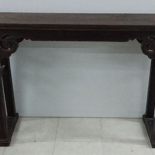Console table (1) - Wood - China - Qing Dynasty (1644-1911)