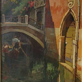 Nicolas De Corsi (1882-1956) - Venezia