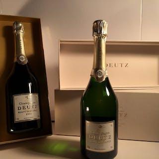 2013 Deutz Blanc de Blancs - Champagne Blanc de Blancs - 2 Flaschen (0,75 l)