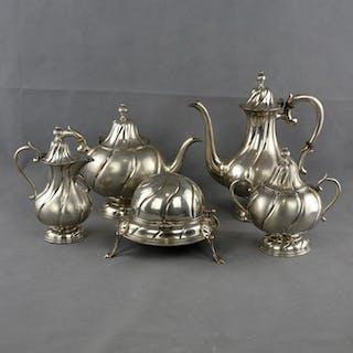 Coffee and tea service - .833 silver - Portugal