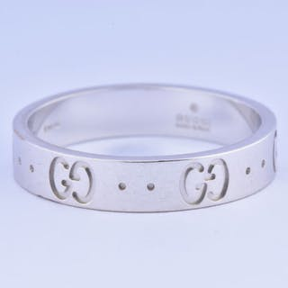 Gucci - 18 quilates Oro blanco - Anillo