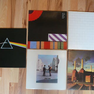 Pink Floyd - Dark side of the moon _ Wish you were here...