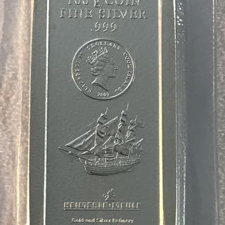 100 grammi - Argento .999 - Heimerle & Meule - Seal