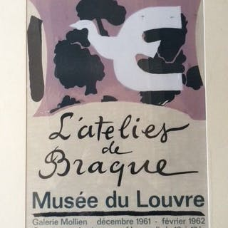 Georges Braque - L'atelier de Braque - 1961