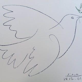 Pablo Picasso- La Colombe de la Paix
