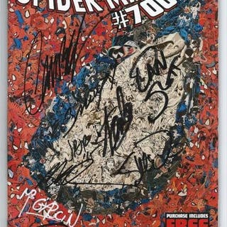 Amazing Spider-man #700 - Signed 9X Including Stan Lee