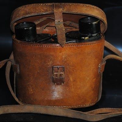 6 x 30 Helinox Civilian Cased Binoculars C. P. Goerz Berlin 1922