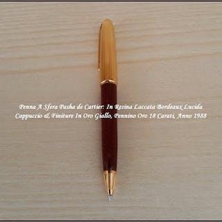 ■Cartier - Penna A Sfera Pasha de Cartier - Penna A Sfera...