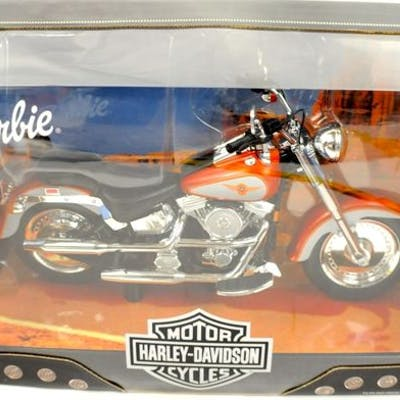 Barbie - Harley-Davidson Collection - Motorrad Barbie...