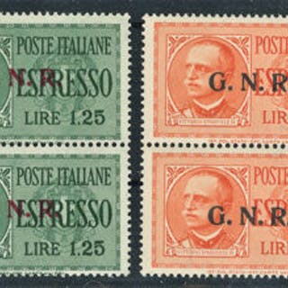 Italien 1943 - RSI - Express stamps