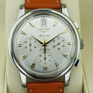 """Longines - Conquest Heritage chronograph Big-Date """"No..."""