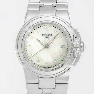Tissot - T-Sport Mother of Pearl Ladies Diamonds Watch...