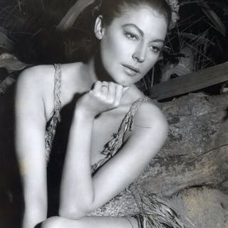 Unknown/Houston Post - Ava Gardner, 'The Grass Hut', 1957