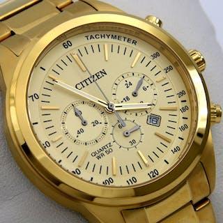 "Citizen - Cronograph ""All Gold"" Big Dial - - ""NO RESERVE..."