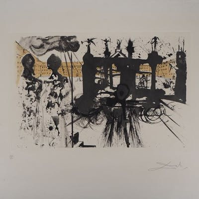 Salvador Dalí  - Le portique