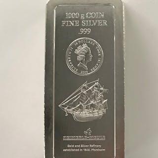 Cook Islands - 30 Dollar 2008 - Münzbar - 1 kg - Silber