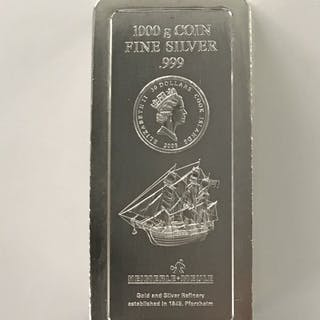 Cook Islands - 30 Dollar 2008 - bullion - 1 kg - silver