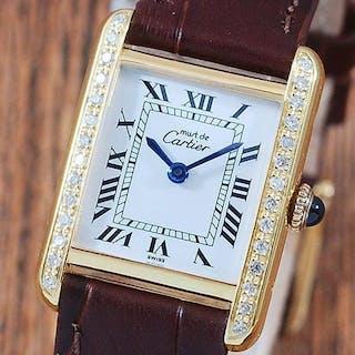 Cartier - Tank Diamond Must De Cartier - Women - 1980-1989