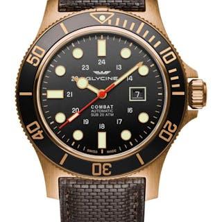 Glycine - Combat Sub 48 Bronze  - GL0243 - Uomo - 2011-presente