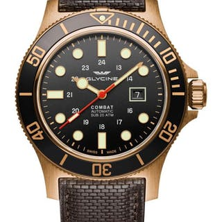 Glycine - Combat Sub 48 Bronze- GL0243 - Herren - 2011-heute