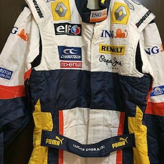 ING Renault f1 team - Formula Uno - Lucas di Grassi...