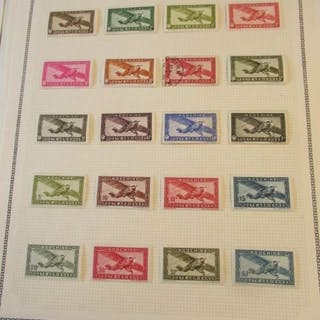 Indochina und Zähler - Advanced collection of stamps