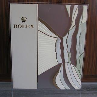 "Rolex - ""NO RESERVE PRICE"" Dealer Stand Display rare..."