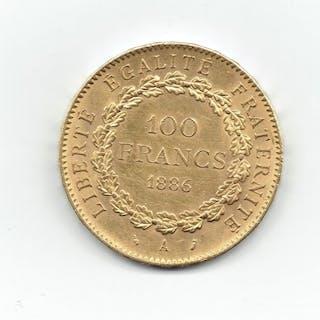 France - 100 Francs 1886-A Génie - Gold