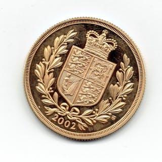 United Kingdom - 2 Pounds 2002 Elizabeth II - Gold