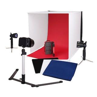 Caruba Portable Fotostudio Halogeen 40x40x40cm - (3490)