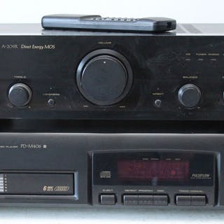 Pioneer - A-209R + PD-M406 6-CD wisselaar - Diverse modellen - CD-Player