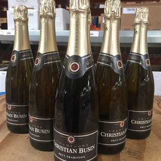 "Christian Busin ""Brut Tradition"" - Champagne - 6 Flaschen (0,75 l)"