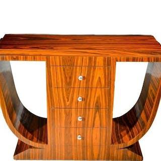 Tavolo consolle, Palissandro - Art Deco Style