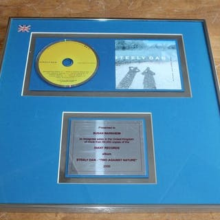 Steely Dan - Two Against Nature - Offizieller hauseigener Award - 2000/2000