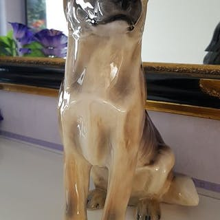 Giovanni Ronzan - Ronzan - German shepherd dog (1) - Ceramic