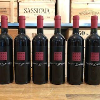 2016 Brancaia Chianti Classico - Toskana - 6 Flaschen (0,75 l)