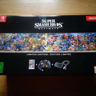 "Nintendo Switch - ""Super Smash Brothers Ultimate"" Limited..."