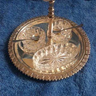 Portasalse (1) - .800 Silber - Italien - Ende des 20. Jahrhunderts