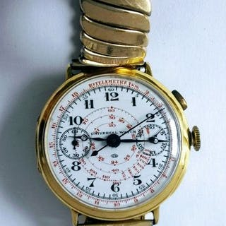 Universal Genève -Single Button Chronograph - Herren - 1901-1949