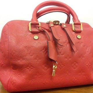 Louis Vuitton - Speedy Monogram Empreinte 25 Orient Handbag