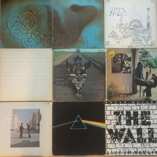 Pink Floyd & Related - LP's - 1969/1980