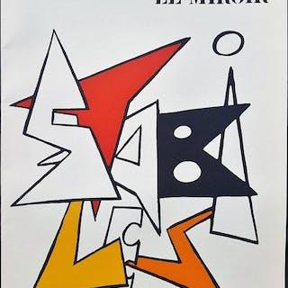 Alexander Calder - Derriere le Miroir 141 - 1961