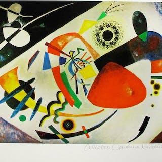 Wassily Kandinsky - Red Spot II . Certificate
