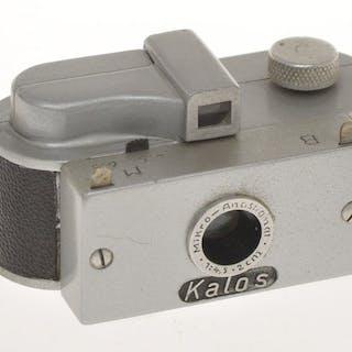 Kalos Camera rare subminiature camera for unperforated film 16mm c.1950, exc++++