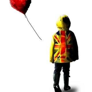 Chris Boyle - Banksy yellow raincoat